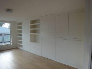 Wandkasten woonkamer