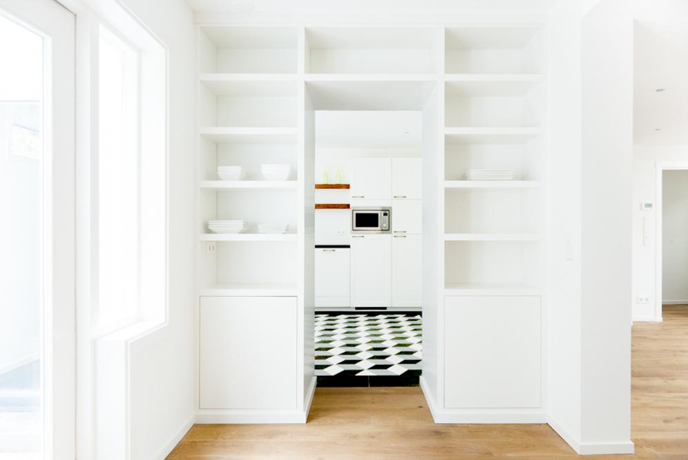 Kamer ensuite met een moderne twist blog nl - Keuken en woonkamer in dezelfde kamer ...