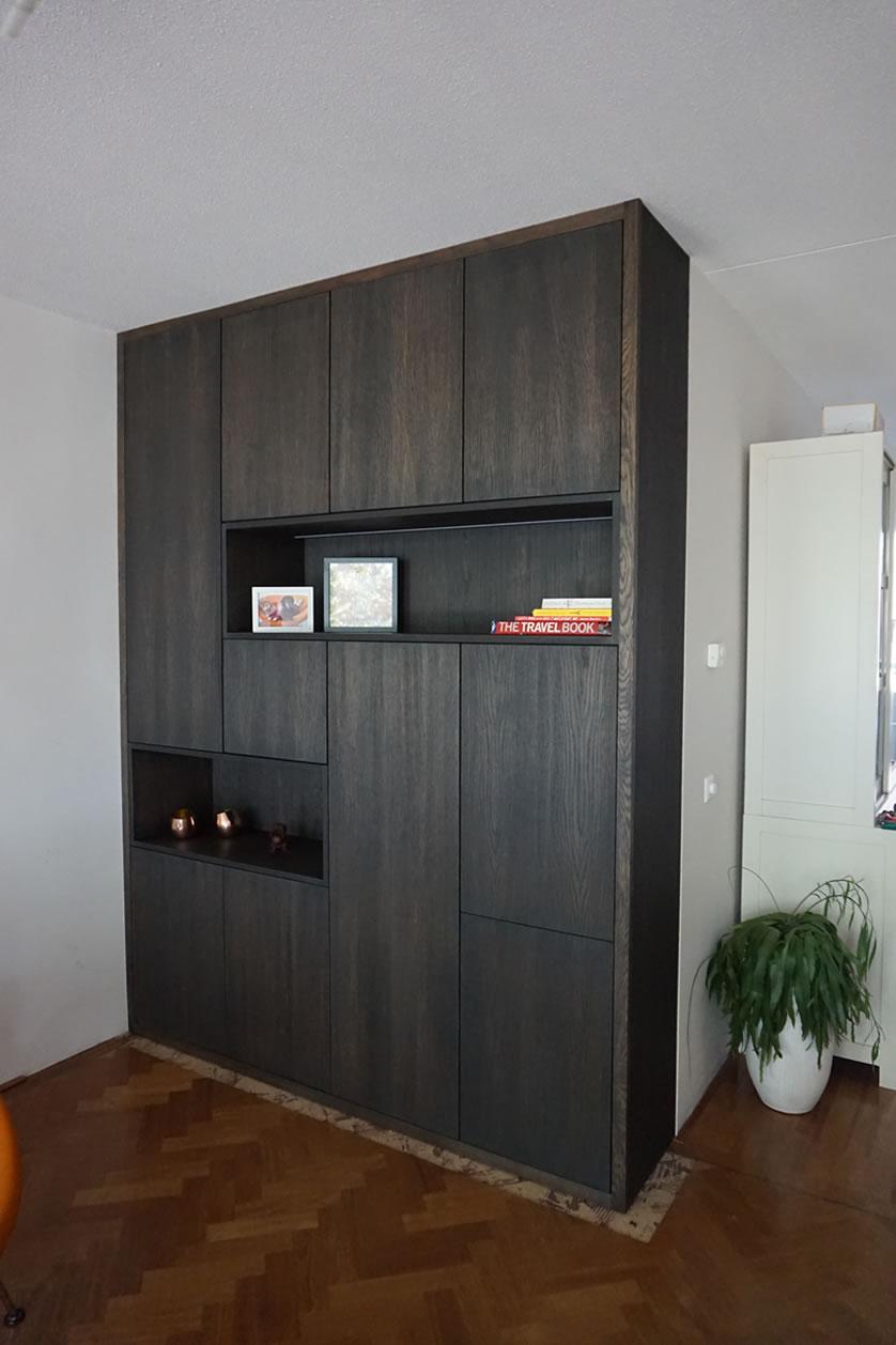 Woonkamer zwarte kast gehoor geven aan uw huis for Kast woonkamer modern
