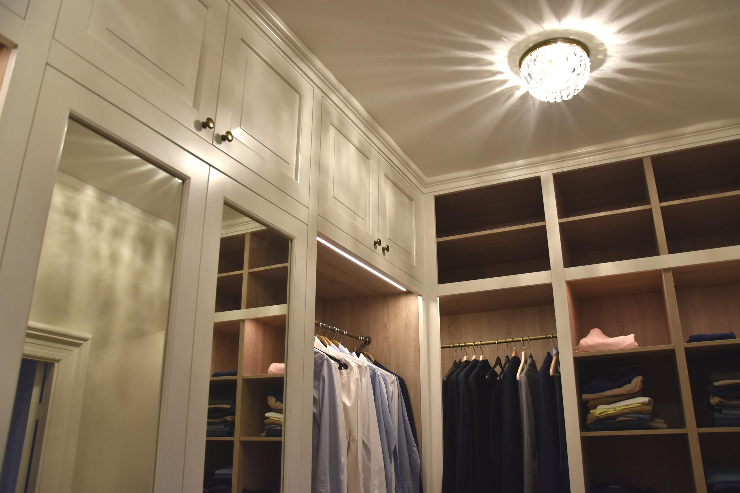Klassieke Luxe Inloopkast : Inloopkasten in amsterdam luxe design nl